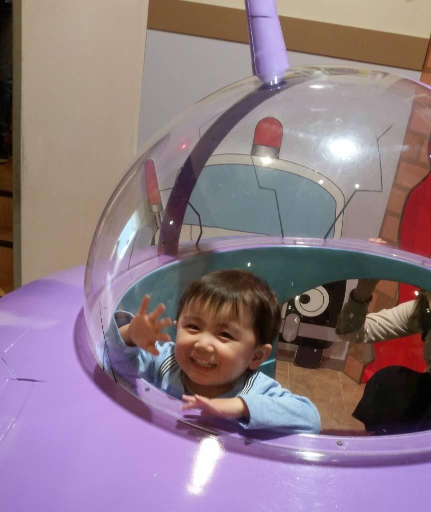 二歳の誕生日はアンパンマンミュージアムで遊ぶといいよ。